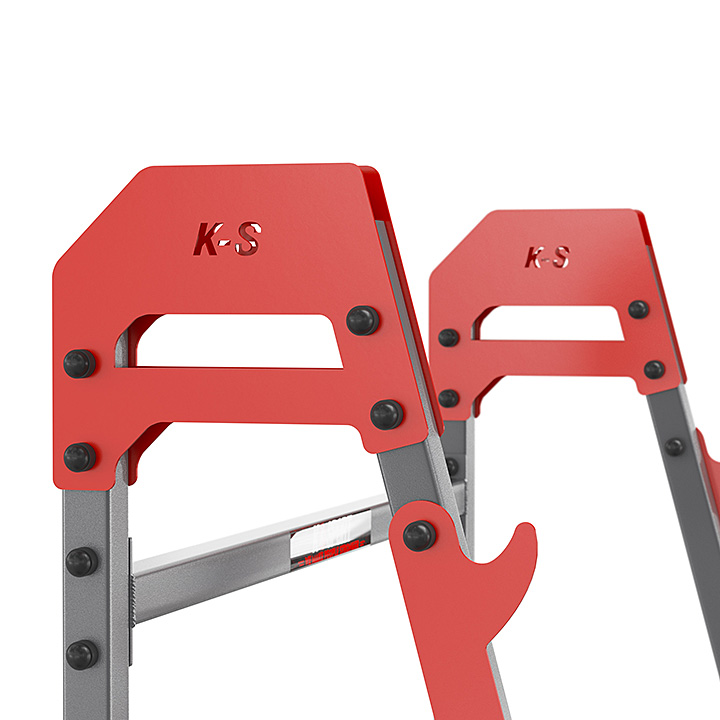 SUPPORTS repose Réglable D/'HALTÈRES BANC armoires Squat-Rack K-SPORT KSSL018